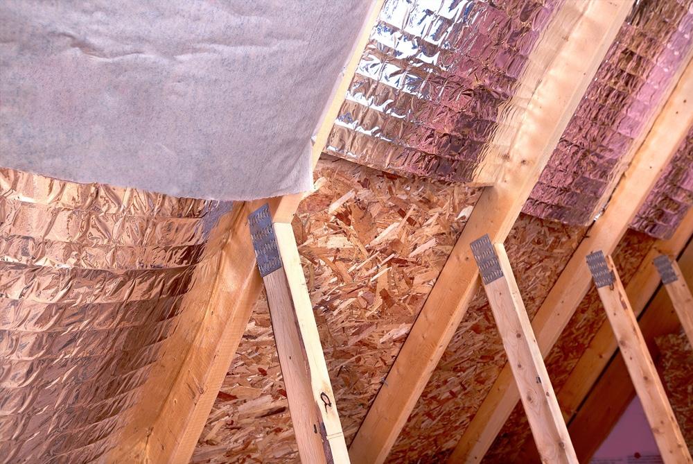 Гидро- пароизоляция потолка