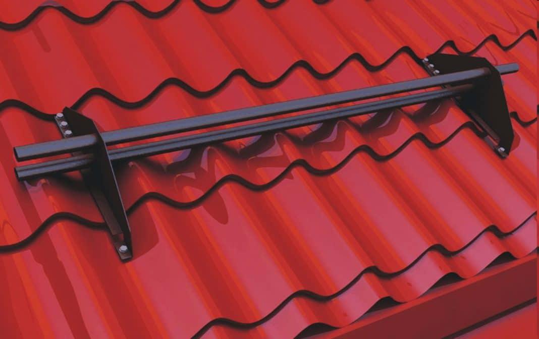 снегозадержатели на крышу металлочерепица