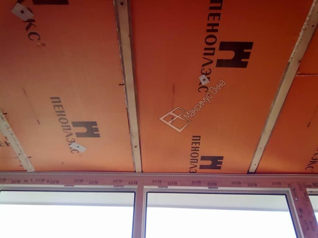 Звукоизоляция потолка пеноплексом