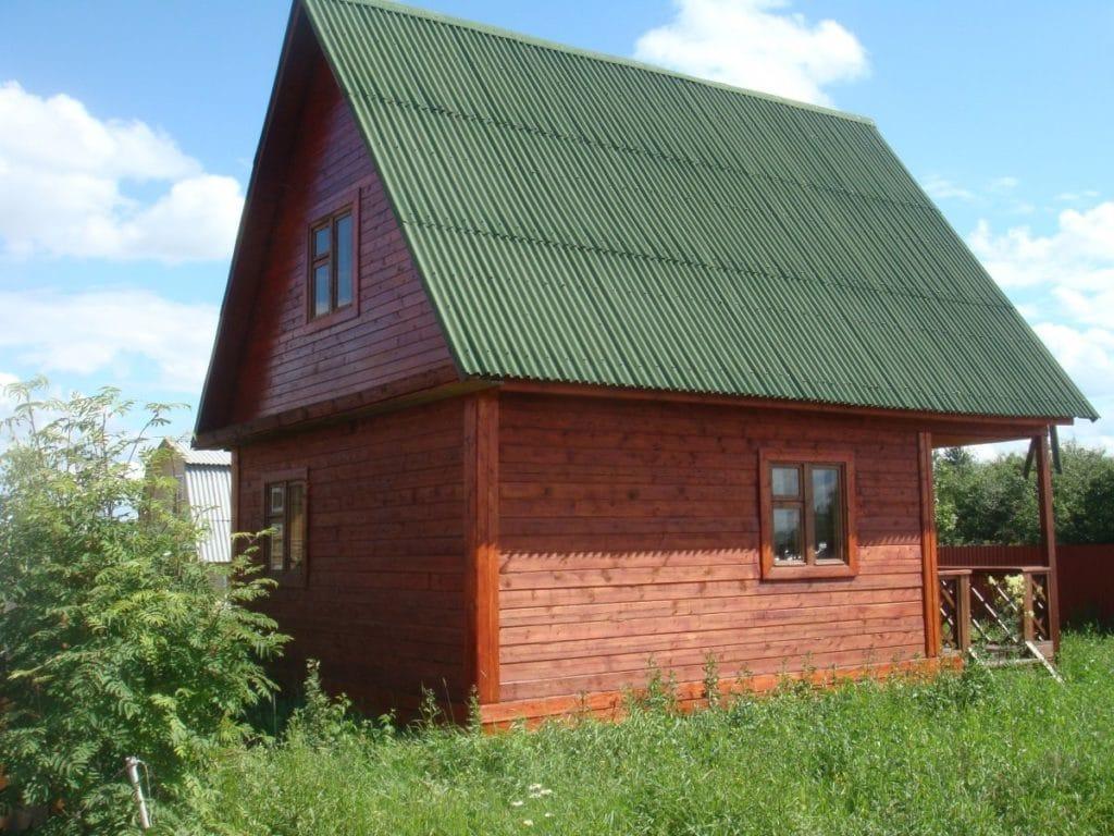 крыша ондулином