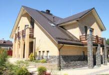 Плитка для фасада дома