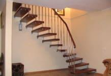 Особенности установки больцевых лестниц