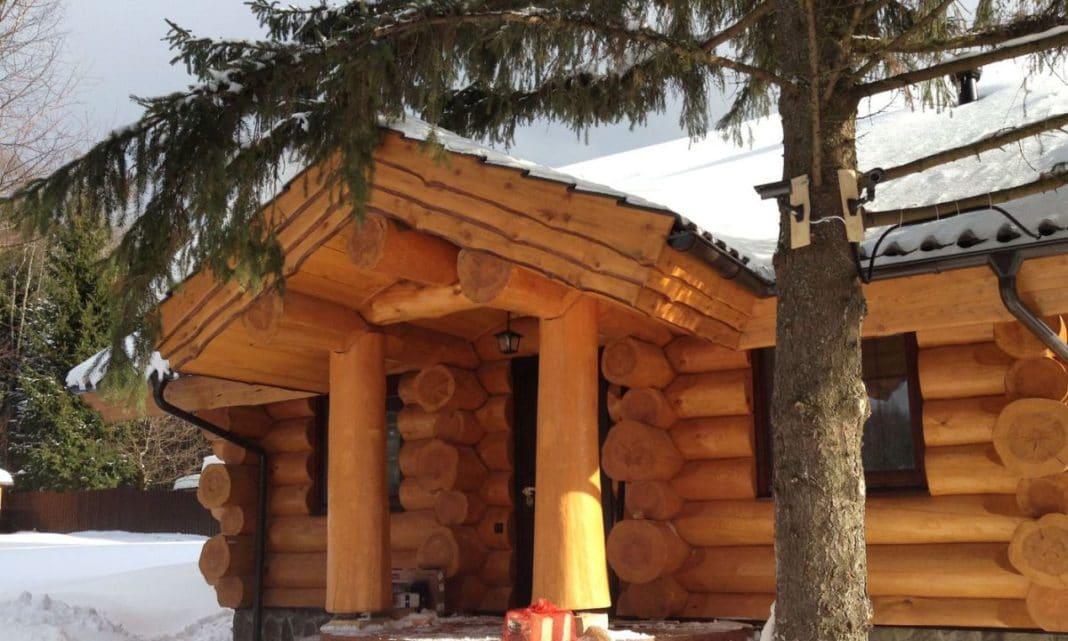Баня из лиственницы