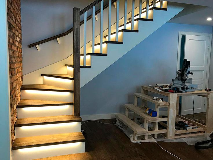 Забежная лестница