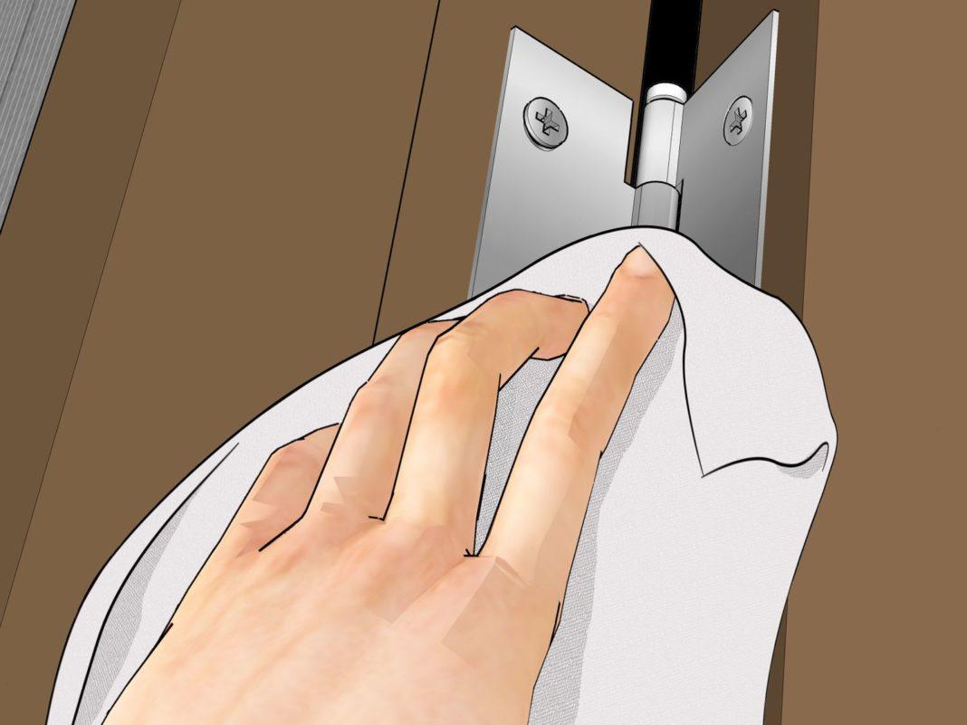 Чем смазать дверные петли