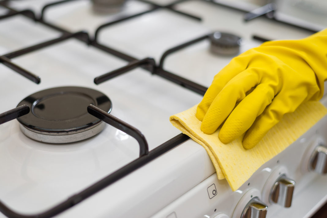Как отмыть плиту чистка решетки духовки варочной поверхности ручек удаление жира и нагара