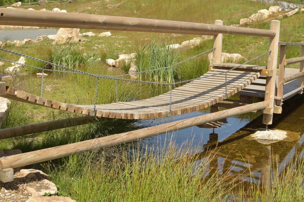 подвесной мостик