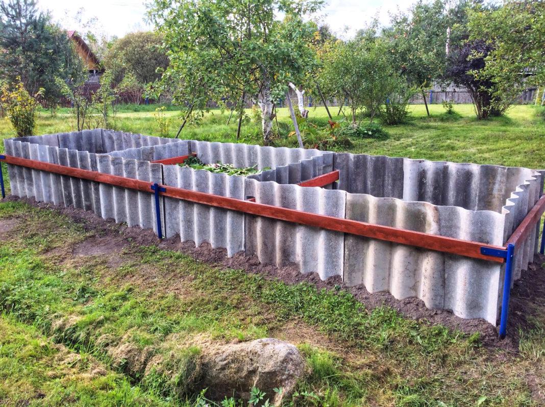 Старый шифер: как использовать его на огороде?