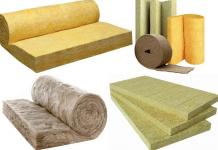 Теплоизоляционные материалыи