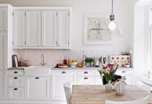 Стоит ли делать белую кухню