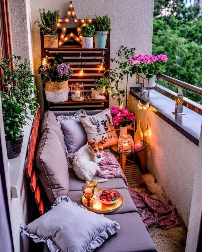 варианты мебели для балкона