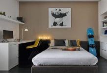 спальня для подростка мальчика дизайн