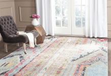 Какие ковры сейчас в моде для зала и гостиной