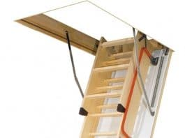 лестница на чердак раскладная с люком