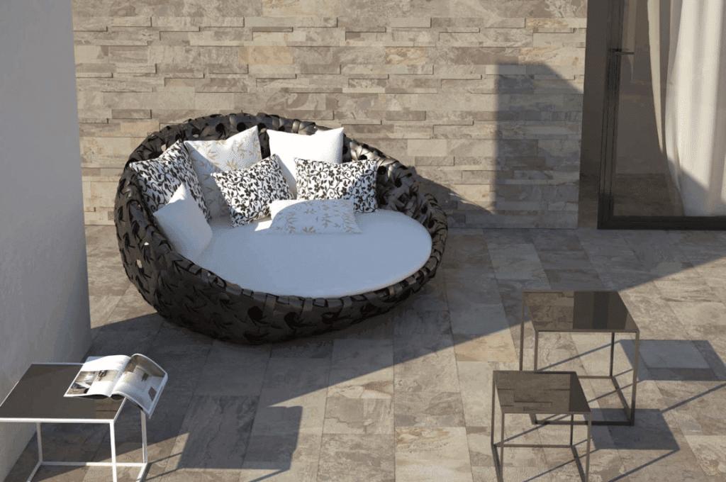 Аристократический дизайн с плиткой Del Conca.